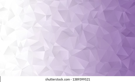 Light purple abstract low poly backgound for modern design, vector illustration template
