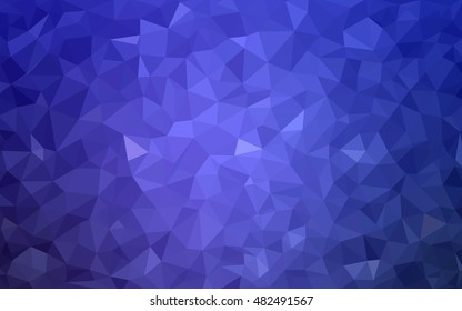 Light purple low poly pattern. A sample with polygonal shapes. Brand-new style for your business design.