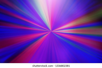 Light Purple, Pink vector abstract layout. Colorful abstract illustration with gradient. New way of your design.