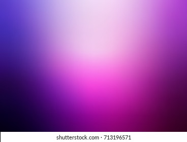 Light Purple, Pink vector abstract blurred background. Creative illustration in halftone style with gradient. Brand-new style for your business design.