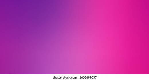 Light Purple, Pink vector blurred colorful texture. Abstract illustration with gradient blur design. New design for your web apps.