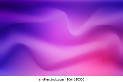 Light Purple, Pink vector pattern with lava shapes. Shining illustration, which consist of blurred lines, circles. Textured wave pattern for backgrounds.