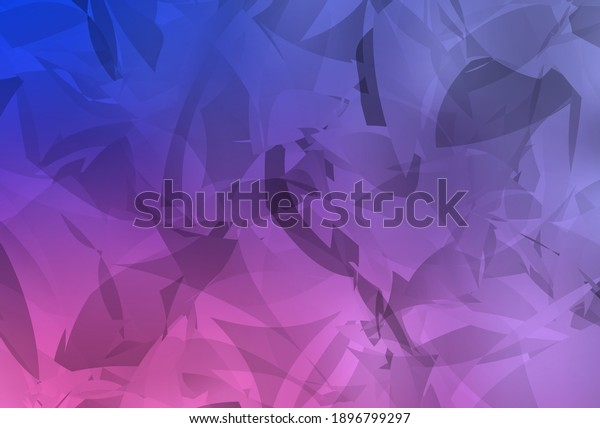 Light Purple, Pink vector texture with abstract poly forms. Illustration with colorful gradient shapes in abstract style. Modern design for your business card.
