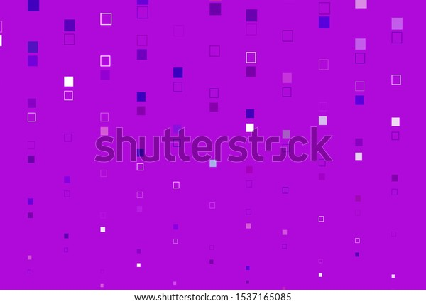 Light Purple vector background with rectangles. Rectangles on abstract background with colorful gradient. Pattern for websites, landing pages.