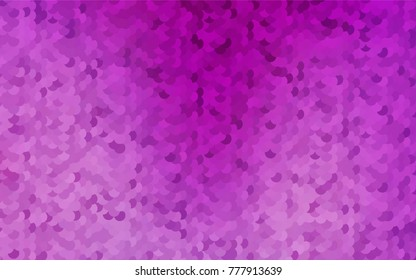 Light Purple vector banner with circles, spheres. Abstract spots. Background of Art bubbles in halftone style with colored gradient.