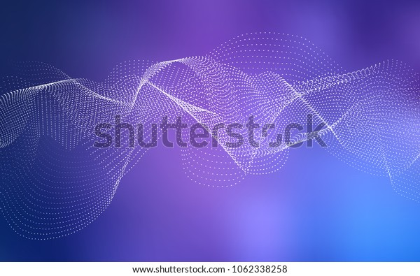 Light Purple vector cover with spots. Glitter abstract illustration with blurred drops of rain. The pattern can be used for beautiful websites.