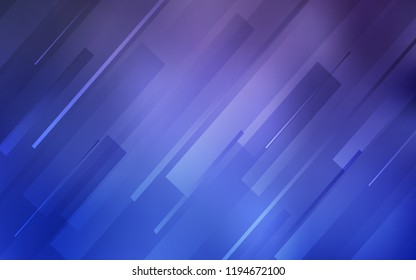 Light Purple vector layout with flat lines. Shining colored illustration with sharp stripes. Template for your beautiful backgrounds.