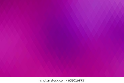 Light Purple vector modern geometrical background. Abstract template. Geometric pattern in square style with gradient.