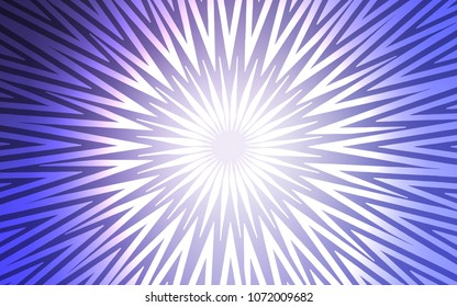 Light Purple vector pattern with sharp lines. Shining colored illustration with sharp stripes. Smart design for your business advert.