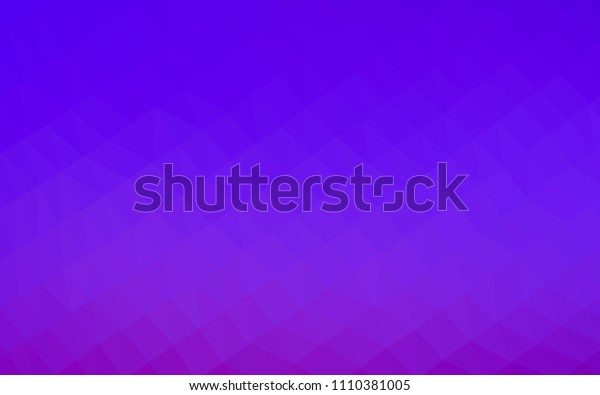 Light Purple vector shining hexagonal pattern. Creative geometric illustration in Origami style with gradient. The template can be used as a background for cell phones.