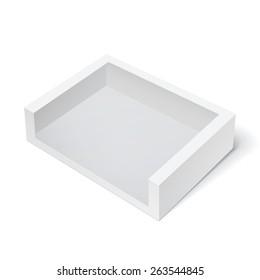 Light Realistic Package Cardboard Box