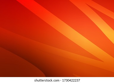 Light Red vector abstract bright texture. A completely new colored illustration in blur style. New way of your design.