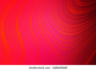 Light Red vector abstract layout. Colorful abstract illustration with gradient. Completely new design for your business.