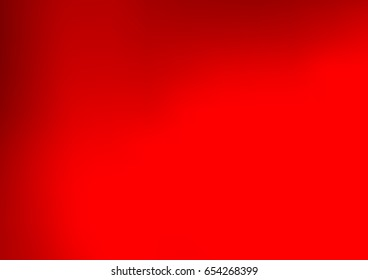 Light Red vector blurred pattern. Brand-new colored illustration in blurry style with gradient. The completely new template can be used for your brand book.