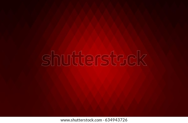 Light Red vector modern geometrical background. Abstract template. Geometric pattern in square style with gradient.