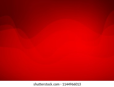 Light Red vector pattern with bent ribbons. An elegant bright illustration with gradient. The template for cell phone backgrounds.