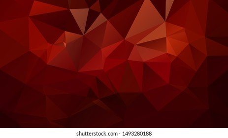 Light Red vector polygon abstract layout , Low Poly Background . vector blurry triangle texture. Brand new colorful illustration in with gradient. Brand new style for your business design.