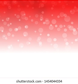 Light Red vector template with circles. Abstract colorful disks on simple gradient background. Pattern for websites, landing pages.