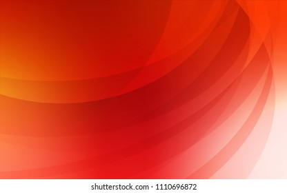 Light Red vector template with liquid shapes. Geometric illustration in marble style with gradient.  A new texture for your  ad, booklets, leaflets.