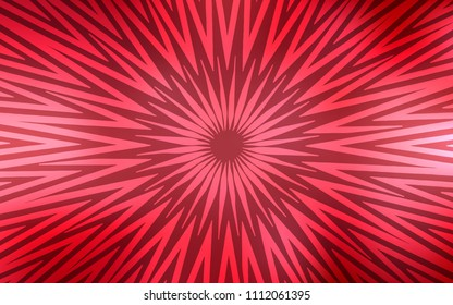 Light Red vector template with repeated sticks. Decorative shining illustration with lines on abstract template. Pattern for your busines websites.