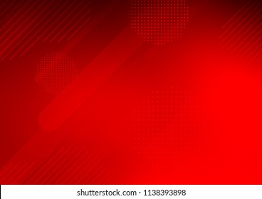 Light Red vector template with repeated sticks, circles. Modern geometrical abstract illustration with sticks, dots. The template can be used as a background.