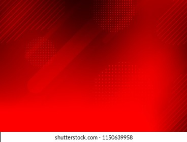 Light Red vector template with repeated sticks, circles. Modern geometrical abstract illustration with sticks, dots. Smart design for your business advert.