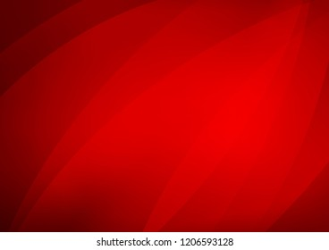 Light Red vector texture with colored lines. Shining colored illustration with narrow lines. The template can be used as a background.