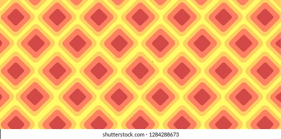 light Red, Yellow, gold vector texture with disks. Blurred box on abstract background with colorful gradient. Completely New design for ad, poster, banner of your website