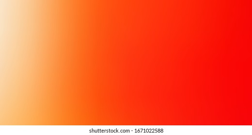 Light Red, Yellow vector abstract backdrop. Abstract illustration with gradient blur design. Design for landing pages.