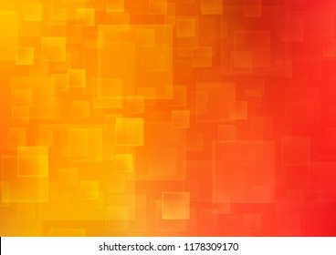 Light Red, Yellow vector backdrop with rectangles, squares. Modern abstract illustration with colorful rectangles. Smart design for your business advert.