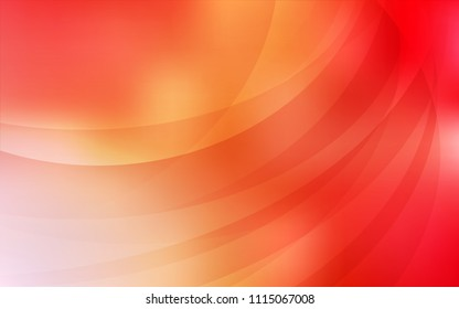 Light Red, Yellow vector template with bubble shapes. Creative geometric illustration in marble style with gradient. Brand-new design for your ads, poster, banner.