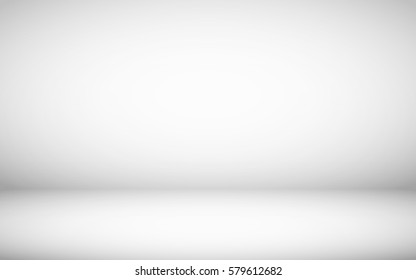 Light room with wide clean copy space. Vector illustration. No mesh items on this background
