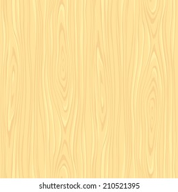 Light seamless woodeen texture in vector