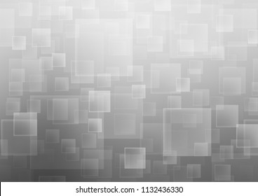 Light Silver, Gray vector cover in polygonal style. Rectangles on abstract background with colorful gradient. Modern template for your landing page.