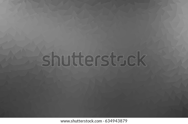 Light Silver, Gray vector geometric simple minimalistic background, which consist of triangles on white background. Triangular pattern with gradient for your business design.