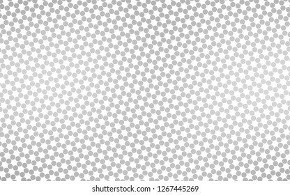 Light Silver, Gray vector layout with circle shapes. Glitter abstract illustration with blurred drops of rain. Pattern of water, rain drops.