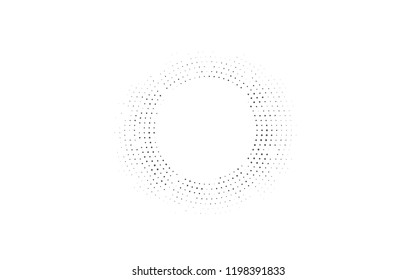 Light Silver, Gray vector pattern with spheres. Beautiful colored illustration with blurred circles in nature style. Pattern for beautiful websites.