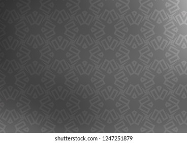 Light Silver, Gray vector pattern in polygonal style with cubes. Illustration with colorful triangles, rectangles. Pattern for busines ad, booklets, leaflets