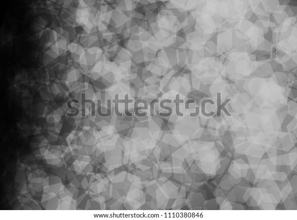 Light Silver, Gray vector polygon abstract pattern. Colorful abstract illustration with gradient. Brand new style for your business design.