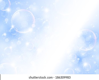 Light sky landscape