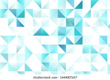 Light vector background with polygonal style. Triangles on abstract background with colorful gradient. Pattern for websites.