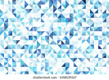 Light vector background with triangles. Abstract gradient illustration with triangles. Best design for poster, banner.