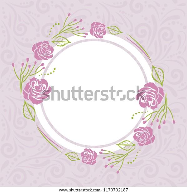 light-violet-pattern-stylized-wreath-600