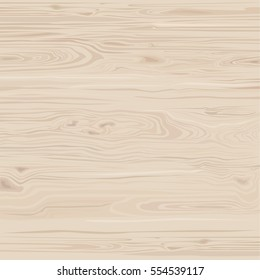 Light wood texture. Template for your design. Nature background. Hand drawn vector illustration.