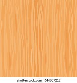 Light wooden striped fiber textured seamless pattern. Vector background