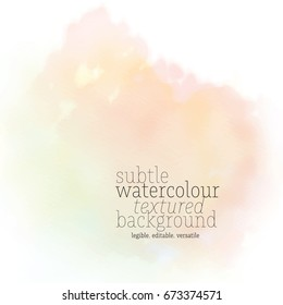 light yellow watercolor background