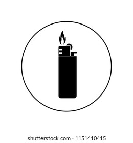 Lighter icon, logo