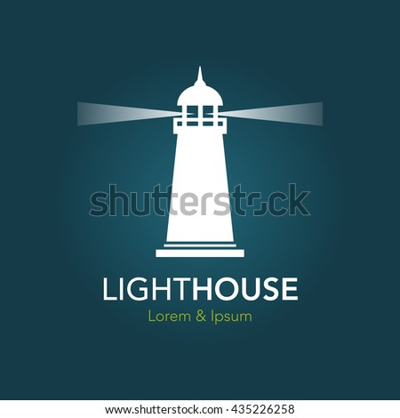 Lighthouse business sign template lighthouse abstract stock vector lighthouse business sign template lighthouse abstract waves icon nautical banner corporate identity flashek Image collections