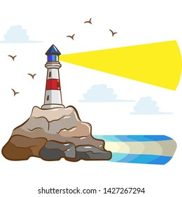 Lighthouse Clipart Hd Stock Images Shutterstock