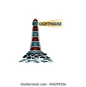 Lighthouse vector/Lighthouse logo